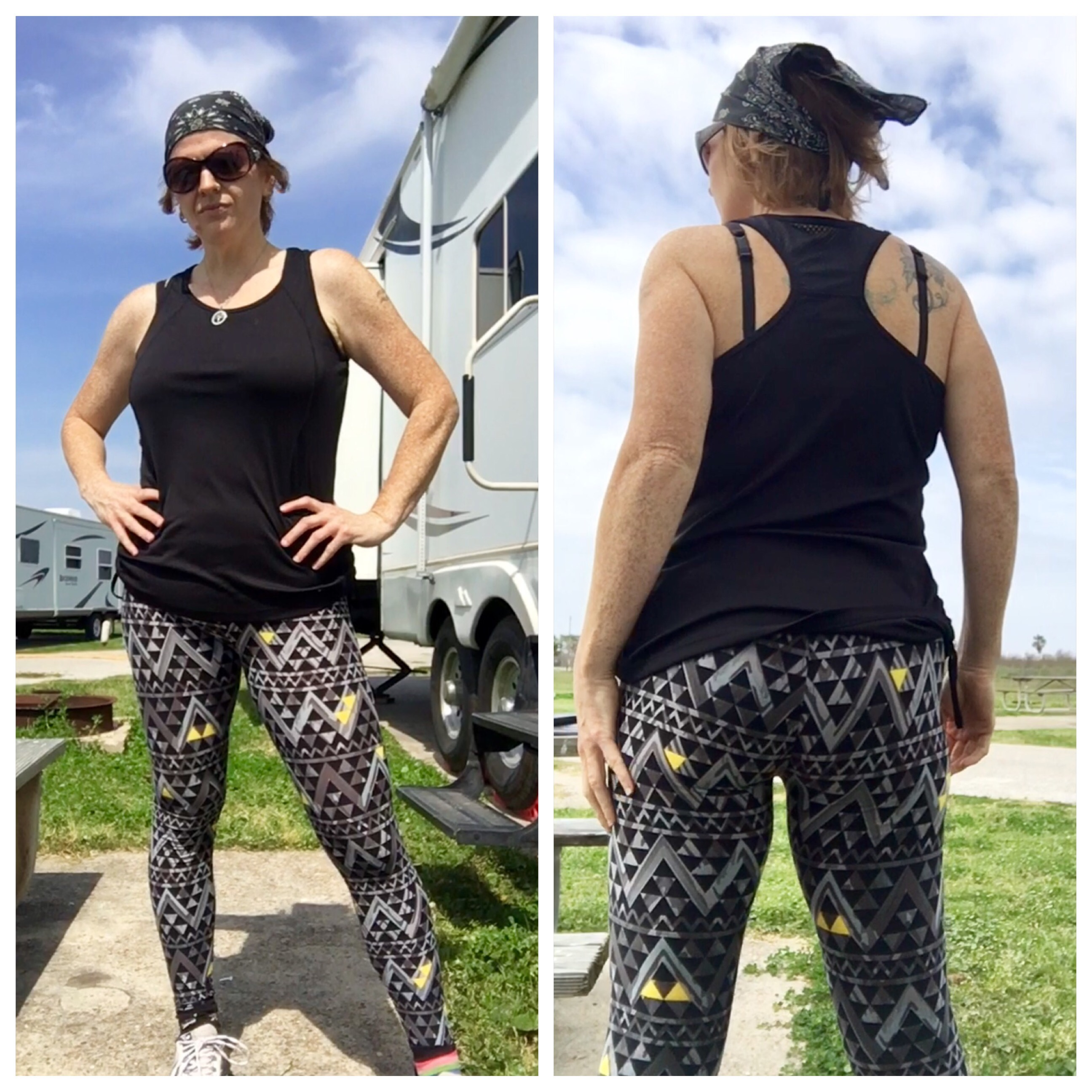 d88b6a700de599 I was so excited to try exercising in them, and thought a little Total Body  Hammer from my Hammer and Chisel program sounded perfect!